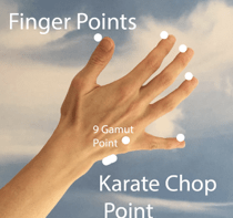 Finger Points (EFT) tapping